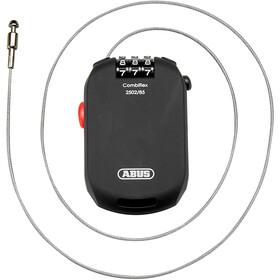 ABUS Combiflex Pro 2502 Cavo antifurto arrotolabile serratura a combinazione, nero
